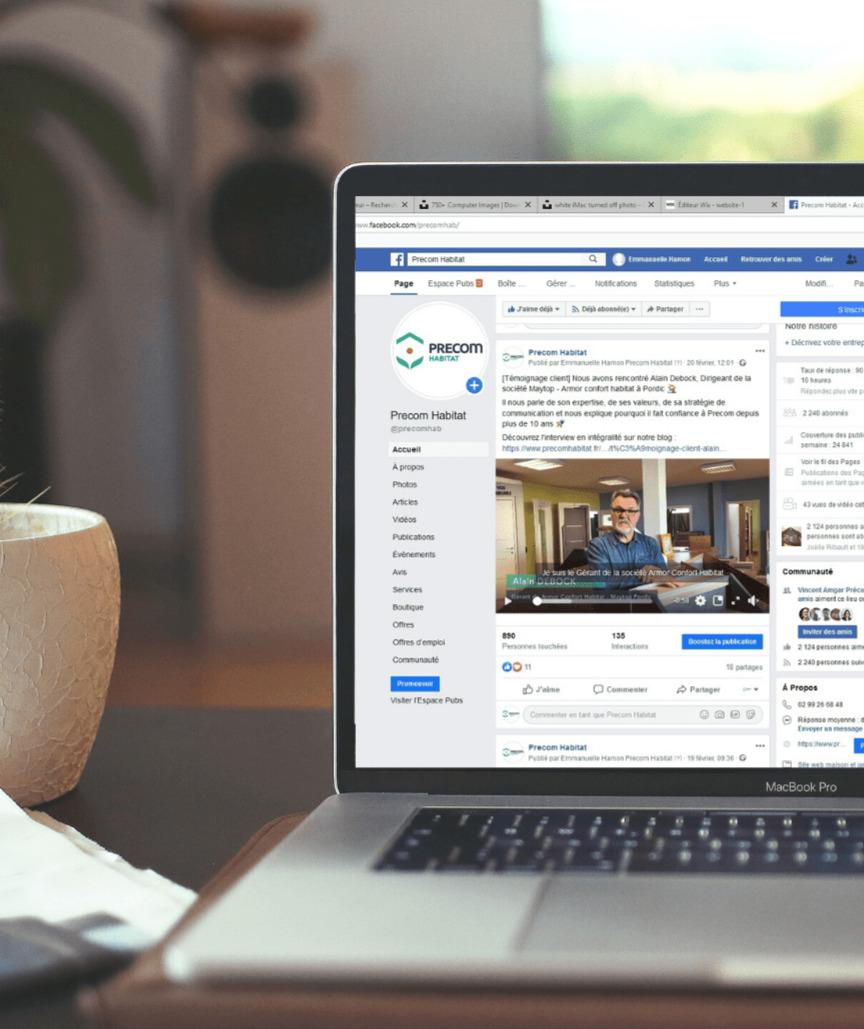 Pourquoi créer une page facebook pour son entreprise ? Que poster sur la page facebook de son entreprise ?