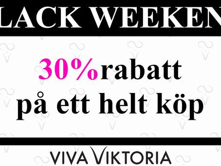 27- 29 November 2020 - BLACK WEEKEND HOS VIVA VIKTORIA
