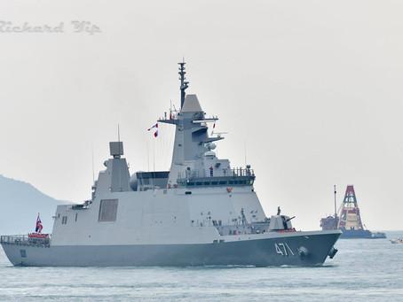 """เรือหลวงท่าจีนเปลี่ยนชื่อเป็น""""เรือหลวงภูมิพลอดุลยเดช"""""""