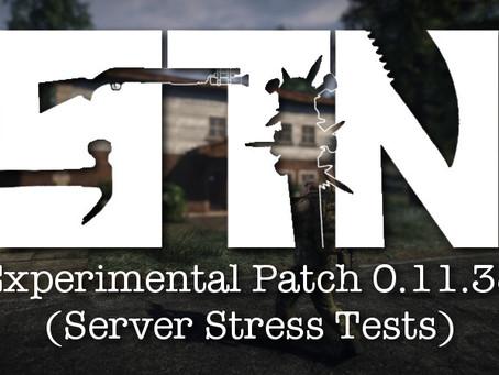 Pre-Alpha Devblog #39 (Experimental Build Patch 0.11.38   Server Stress Tests)