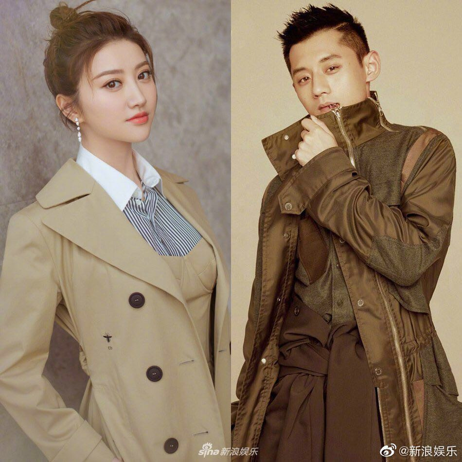 Jing Tian and Zhang Jike