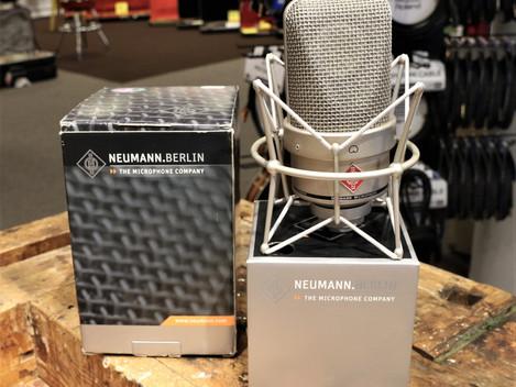 Begagnade Studiomikrofoner, Neumann TLM-49, 10499:- Zigma med U-67 kapsel, 2799:-