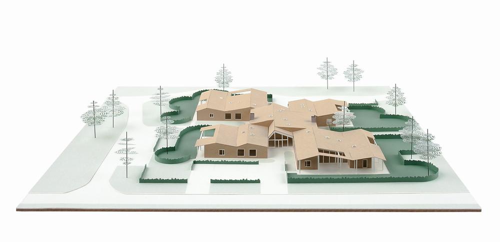Dierendonckblancke architecten ontwierp nieuwbouwwoningen voor de leefgroepen van dagcentrum 't Ven.