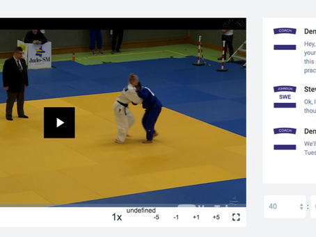 MATCH FEEDBACK IN ATHLETE ANALYZER JUDO