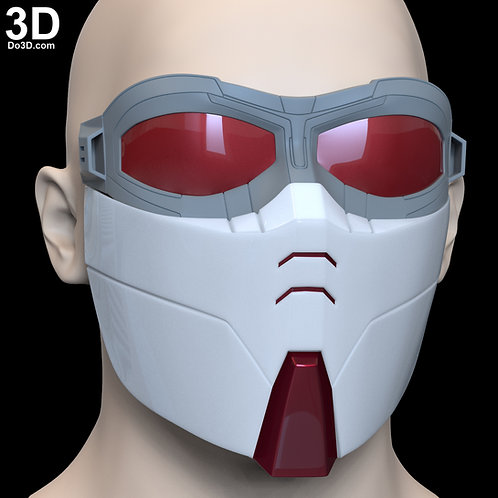 EF01 Face Mask and Goggles | 3D Printable Model STL