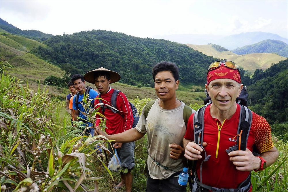 Rando sur mesure au Laos avec un guide local avec ORLA Tours