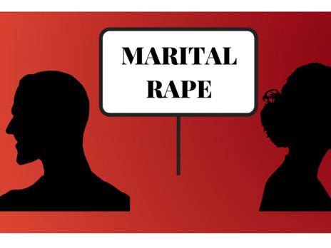 MARITAL RAPE : A NON-CRIMINALIZED CRIME IN INDIA