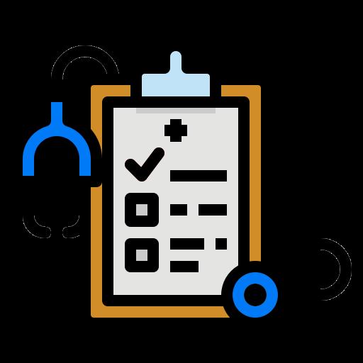 5859223 - checklist clipboard healthcare medical report