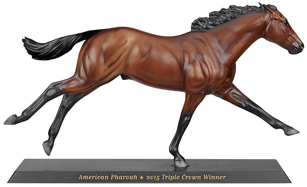 American Pharoah, 2015 Triple Crown winner, Breyer Model Horse