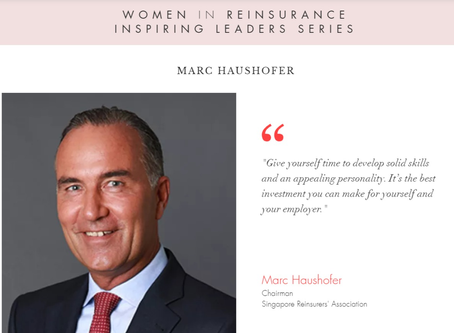 """WiRE presents """"Inspiring Leaders Series"""" – an interview with Mr. Marc Haushofer, SRA"""