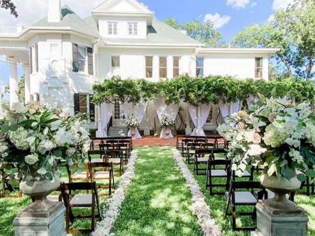 Garden Wedding Scene
