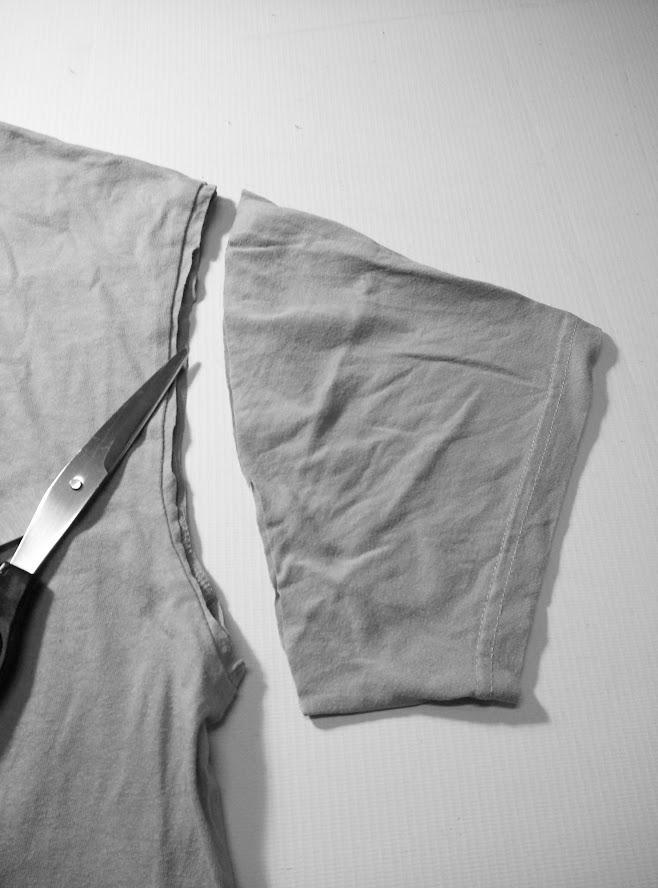 Cut off the sleeve