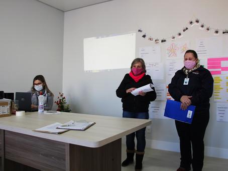 Agentes de saúde participam de capacitação