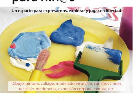 Iniciamos en octubre el Taller de creación en Aranjuez