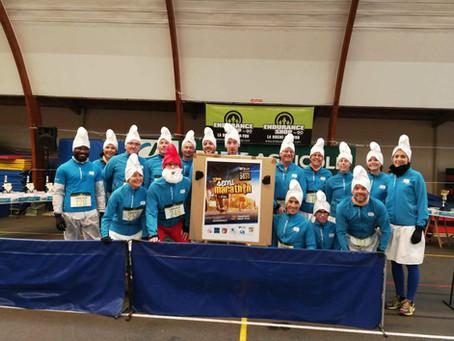 Schtroumpfante Corrida - Moutiers les Mauxfaits  29/12/2019