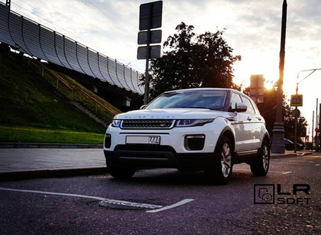 Range Rover Evoque 17MY ingenium 2.0 чип-тюнинг, дооснащение, замеры 0-100
