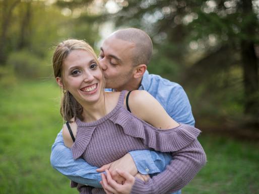 Spring engagement photos in the Poconos!