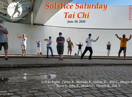 Solstice Saturday Tai Chi
