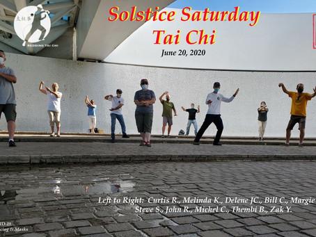 Solstice Saturday Tai Chi