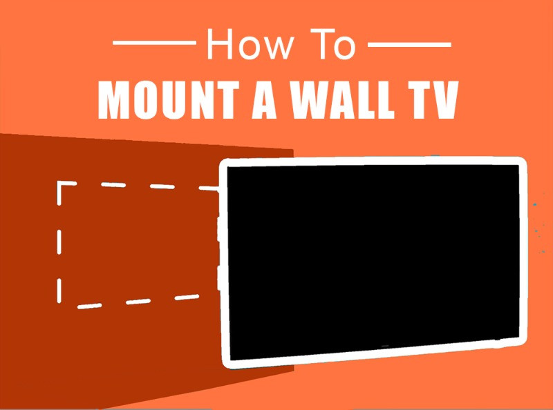 How to mount a wall tv