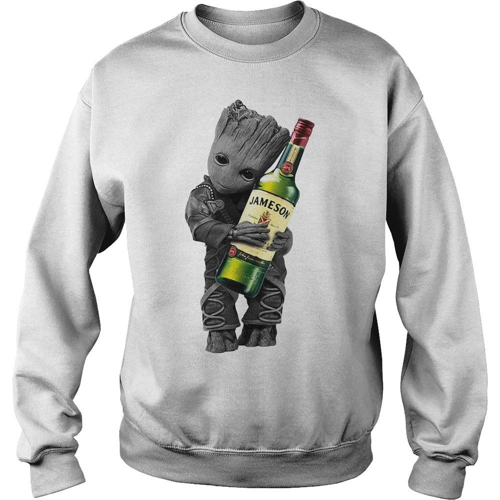 cdde8c4b3ae Groot hug Jameson Whiskey shirt