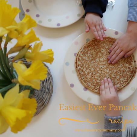 The Easiest Ever Pancake Recipe!