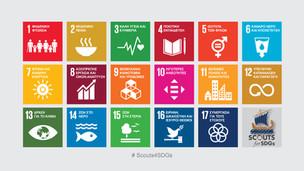 """"""" Οι Πρόσκοποι για τους Στόχους Βιώσιμης Ανάπτυξης"""" (Scouts for SDGs)"""