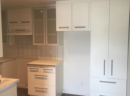 Installation armoire cuisine à Québec
