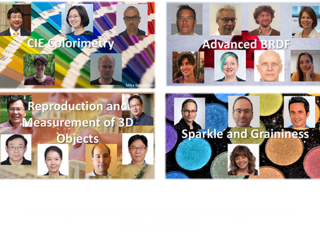 CIE TUTORIALS ON COLORIMETRY AND VISUAL APPEARANCE
