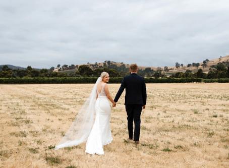 James and Amie's Stunning Yarra Valley Wedding at Acacia Ridge Winery, VIC
