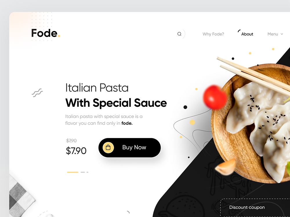 Food Home Page