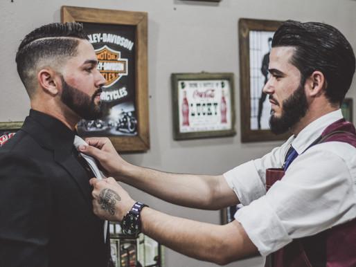 Arte do Atendimento numa barbearia