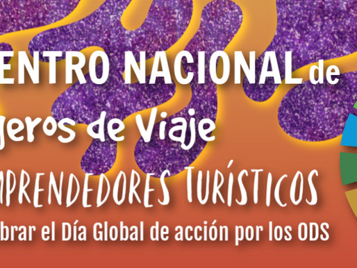 ENCUENTRO NACIONAL DE BLOGGEROS DE VIAJE Y EMPRENDEDORES TURÍSTICOS.