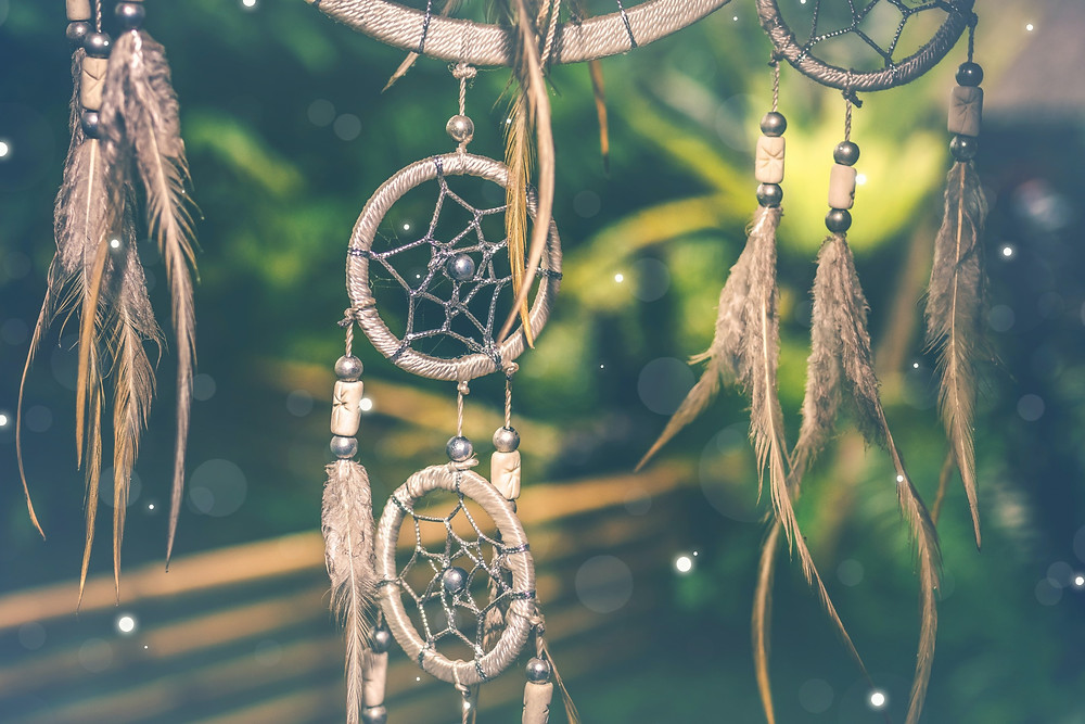 Dream catchers represents the dreams of many to become a successful Native American business owner.