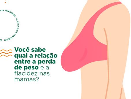 Você sabe qual a relação entre a perda de peso e a flacidez nas mamas?