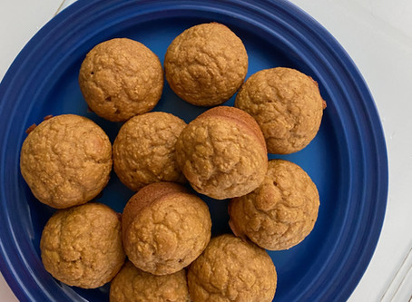 Pumpkin Spice Blender Muffins