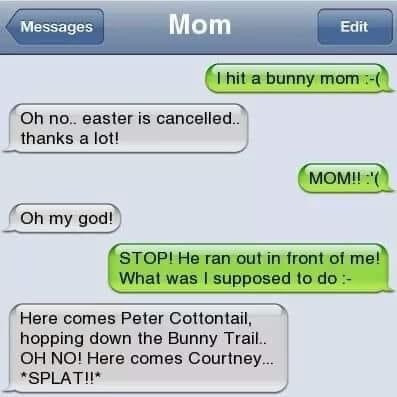 Funny Easter Bunny Memes
