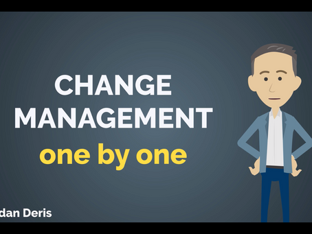 Change Management - one by one!