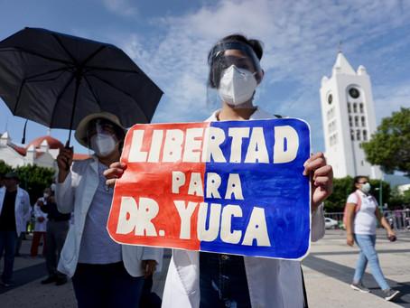 La defensa del doctor Grajales Yuca confía en que será DECLARADO INOCENTE en el proceso judicial