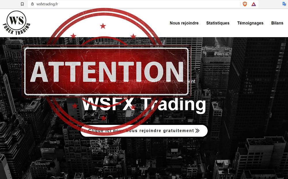 WSFX Trading AVIS