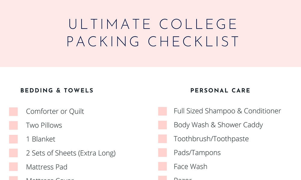 college packing list, college packing, senior portraits, packing checklist, college packing checklist, what to pack for college, packing for college, what to bring to college, free, free college checklist, free college packing checklist