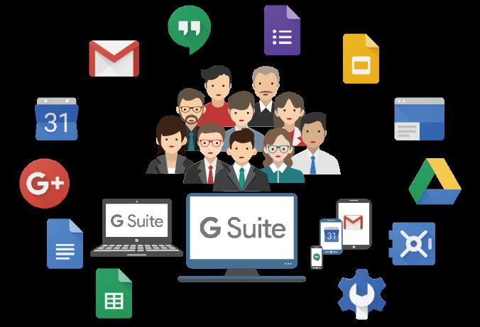 G Suite tạo ra những thay đổi tích cực cho doanh nghiệp