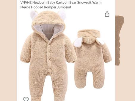 Amazon Newborn Snowsuit