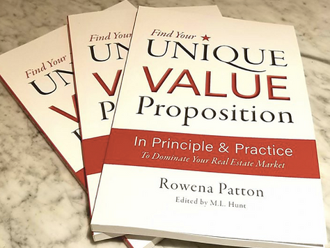 Getting Ahead of the Real Estate Crowd: Unique Value Proposition book for Agents