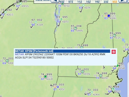 How to read a METAR