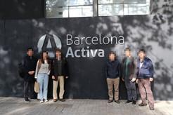 Barcelona Activa 방문