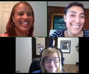 Lanee Blaise, Sandy Kovach and Lena Antoon discuss political arguments on Imagine Yourself Podcast
