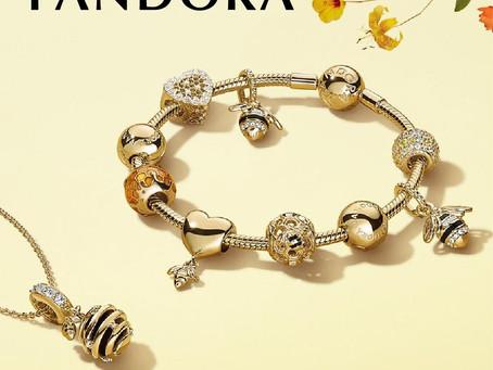 PANDORA串起女孩們的夢想。SHINE蜜蜂系列閃亮登場