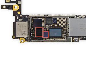 Conserto de iPhone, substituição de chip gráfico