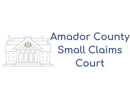 Amador County Small Claims